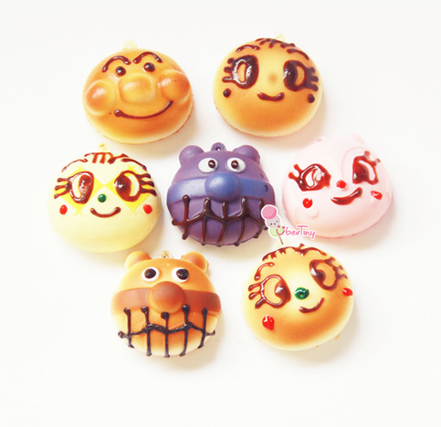3 Anpanman and friends Squishies (SUPER Squishy) ? Uber Tiny ? Online Store Powered by Storenvy