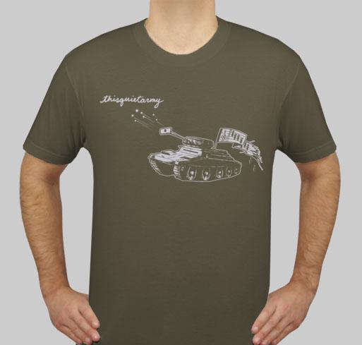 Thisquietarmy Tqa Records Thisquietarmy Tank T Shirt