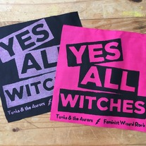 YES ALL WITCHES punk patches medium photo