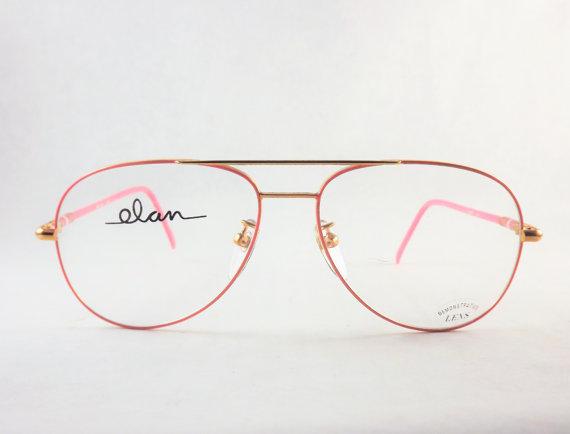 Gold Big Frame Glasses : Womens Bubblegum Pink Aviator Eyeglasses, Big Pink and ...