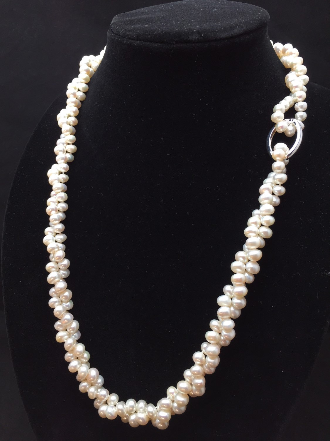 Long Pearl Necklace, Genuine Pearl Necklace, 60 Inches, Aa Pearl  Necklace, Opera