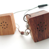 Mini Wood Speaker Usual $89