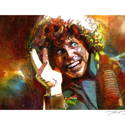 The doctor giclee print