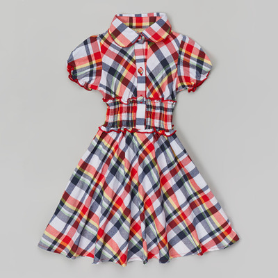 Constance plaid dress
