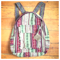 Knit South Western Backpack medium photo