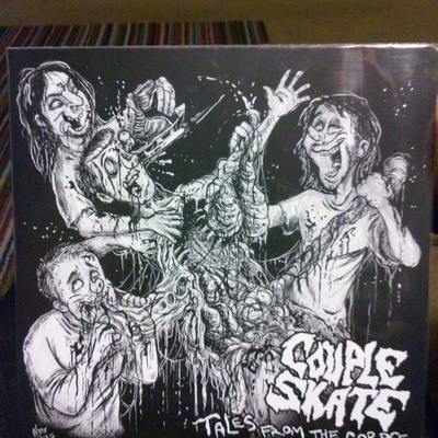 "Couple skate ""tales from the corspe"" 7"" opq051"