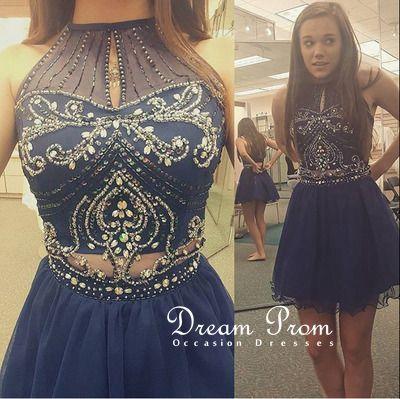 Dream Prom Dresses Homecoming Blue