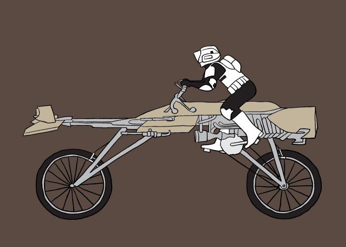 Star Wars Speeder Motorcycle Star Wars Speeder Bike