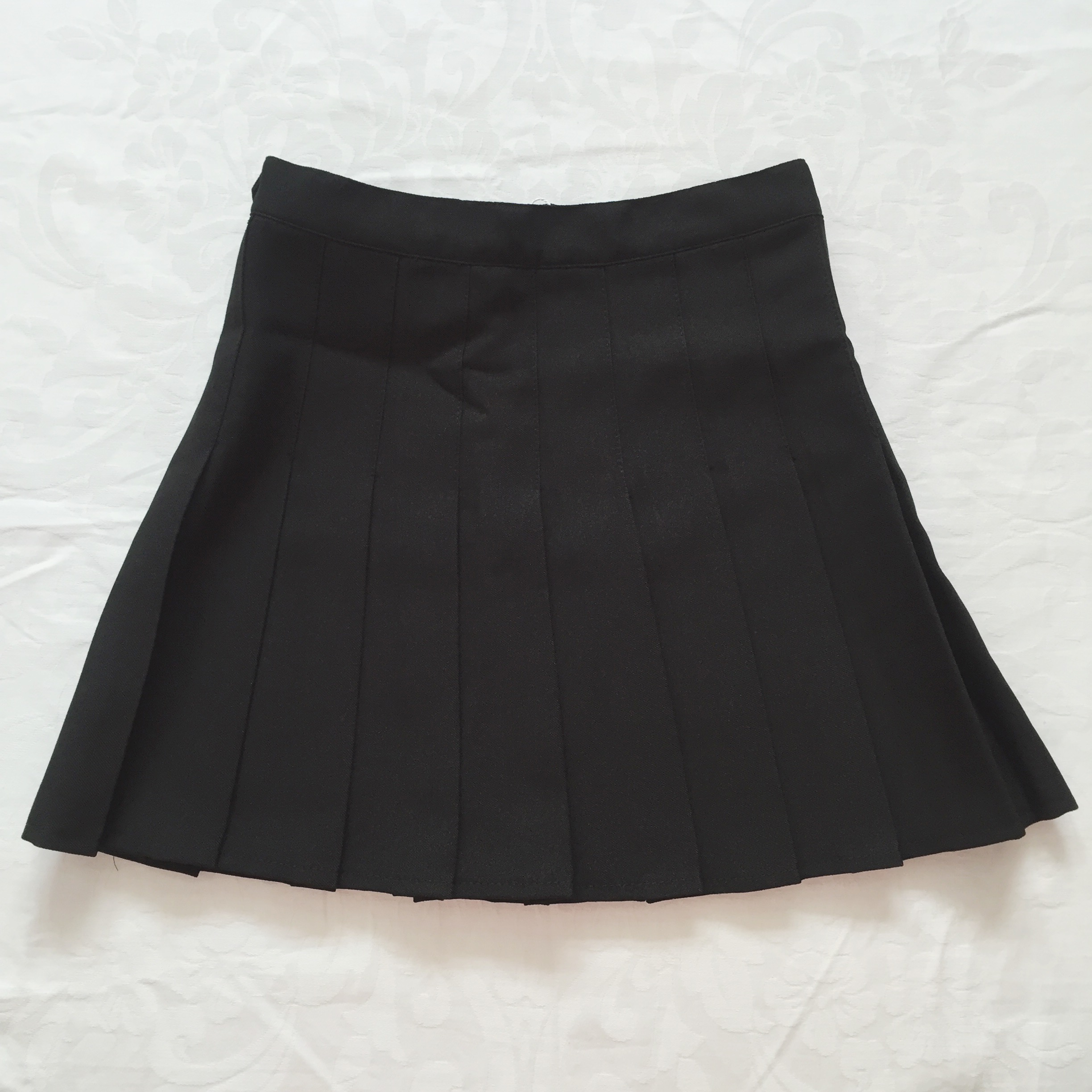 pleated tennis skirt black 183 megoosta fashion 183 free