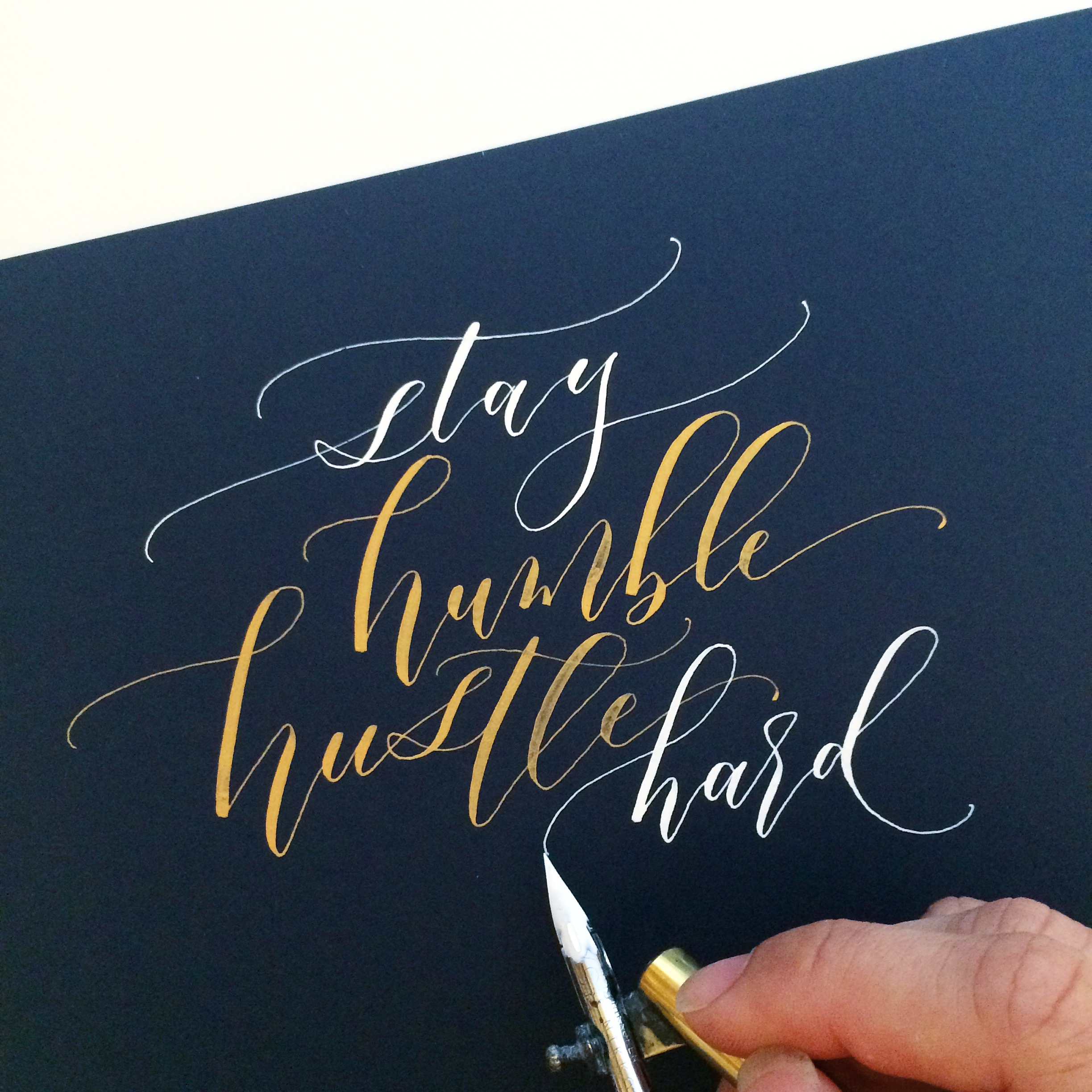 Jan san diego modern calligraphy workshop