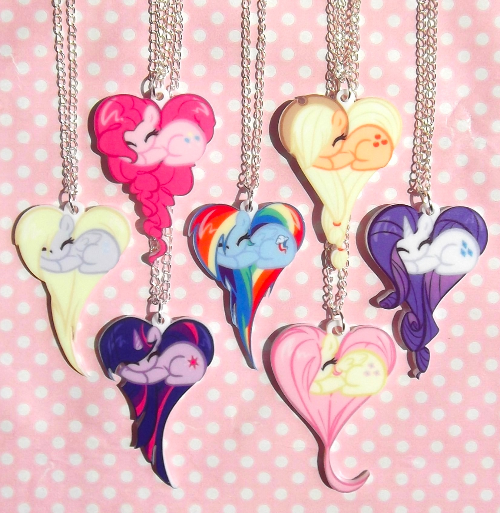 my little pony friendship is magic necklaces pinkie pie