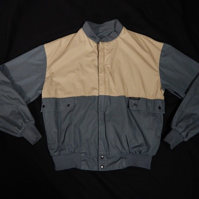 Small member's only reversible two toned bomber jacket