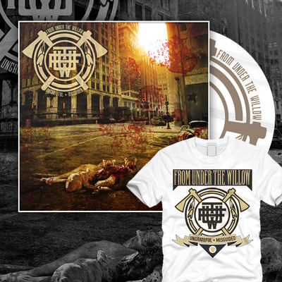 From under the willow - ungrateful • misguided shirt bundle