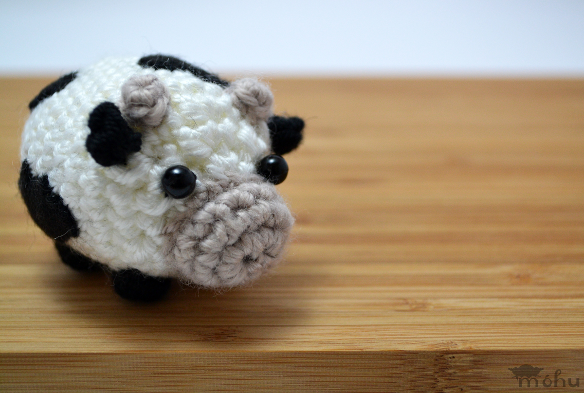 Amigurumi Cowco : crochet cow amigurumi stuffed animal from mohu ...