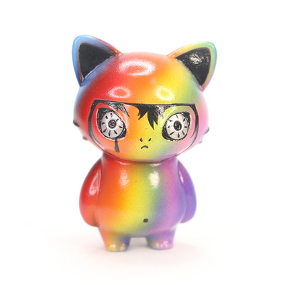 Zkt art custom rainbow nyan micro nyancocco cat