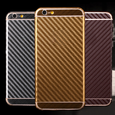 Iphone 6/s plus, 6/6s, 5/5s - smoking hot carbon fiber decal skin in assorted colors