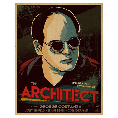 The architect - print