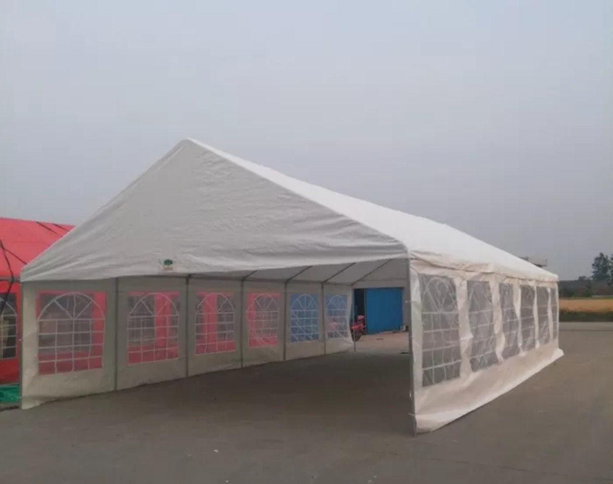 20u0027x40u0027 Heavy Duty Event Party Wedding Tent Canopy Carport & 20u0027x40u0027 Heavy Duty Event Party Wedding Tent Canopy Carport W ...