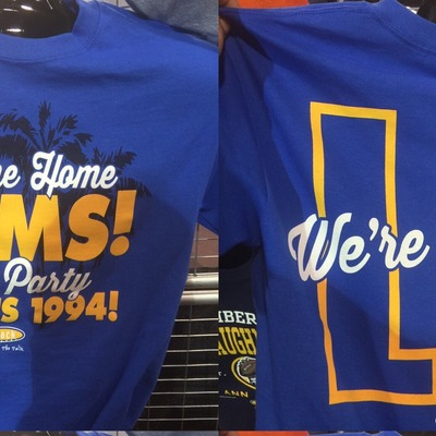 Welcome home rams tshirts