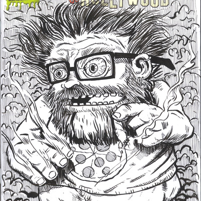 Custom sketch cover - rafer roberts
