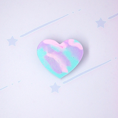 Marble pastel heart♡01