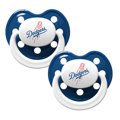 Dodgers orthondontic pacifiers 2 pack