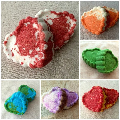 Set of 12 bath bombs - free shipping