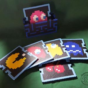 NES Perler Coasters