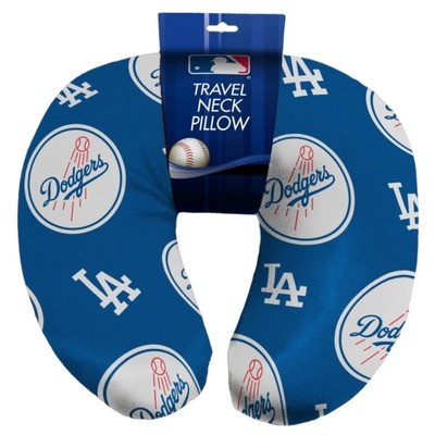 Dodgers beaded neck pillow