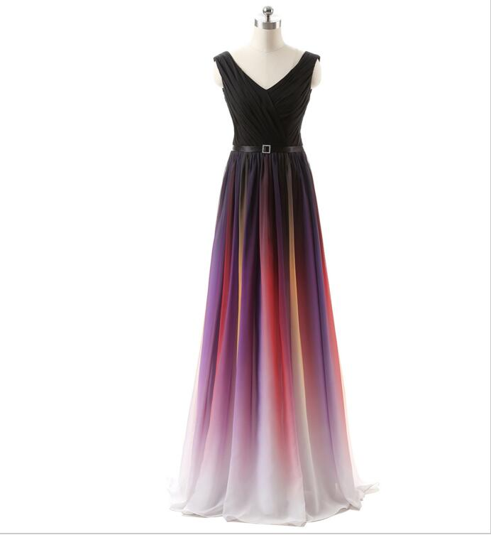 Ombre Prom Dress Prom Dresses 2017 Off Shoulder Prom Dress Sexy