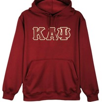 Big & Tall Kappa Alpha Psi Hooded Pullover Sweatshirt Krimson