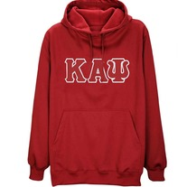 Big & Tall Kappa Alpha Psi Hooded Sweatshirt Red