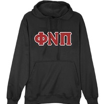 Big & Tall Phi Nu Pi Hooded Pullover (More Colors)
