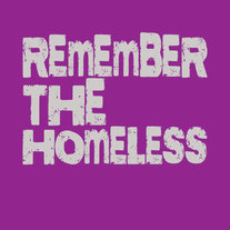 Remember the Homeless Flyer Cards