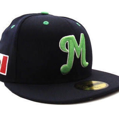 Mexico serie del caribe new era fitted hats