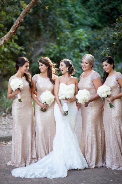 Sequined bridesmaid dress,Short Sleeve bridesmaid dress, 2015 ...