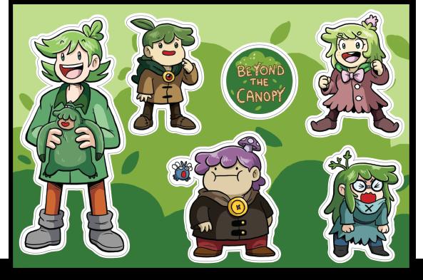 Btcstickerproof_original  sc 1 st  Storenvy & Beyond the Canopy Sticker Sheet (4