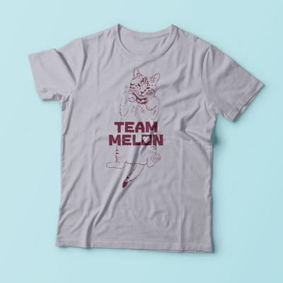 New! team melon t-shirt