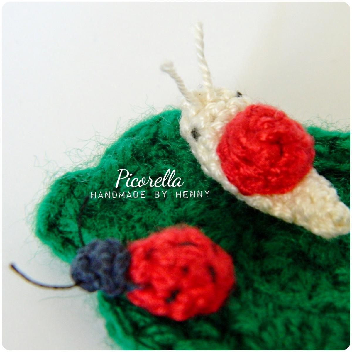 Ladybug Amigurumi Crochet Pattern Free : Mini Ladybug Amigurumi, Amigurumi Ladybug, Miniature ...