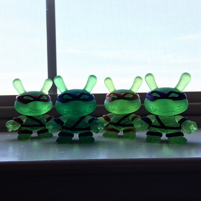 Clear tmnt