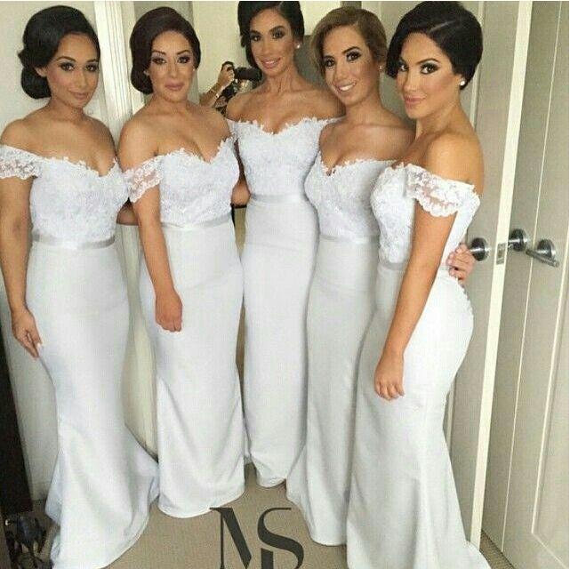 Bridesmaid Dress, Long Bridesmaid Dress, Jersey Bridesmaid Dress ...