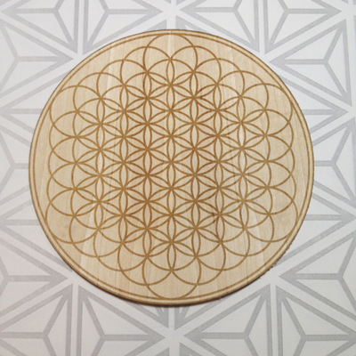 3'' flower of life sticker