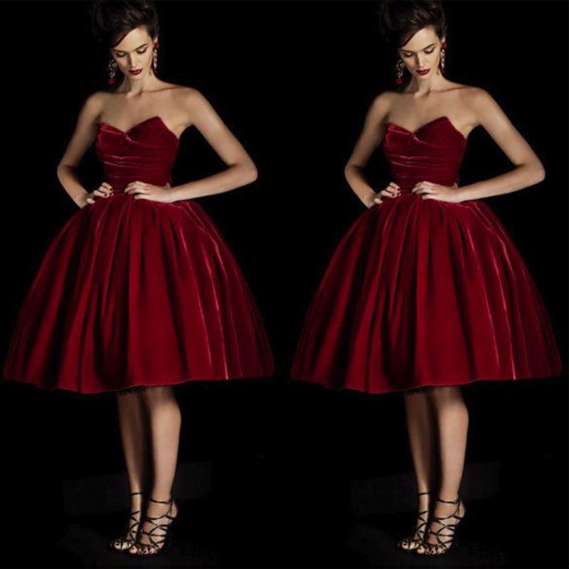 Velvet Prom Dresses,Vintage Prom Dresses,Short Prom Dresses ...