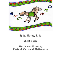 Ride, Horse, Ride Sheet Music