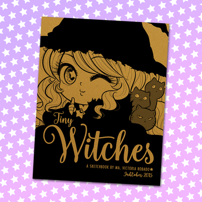 Tiny witches sketchbook - standard - pre-order