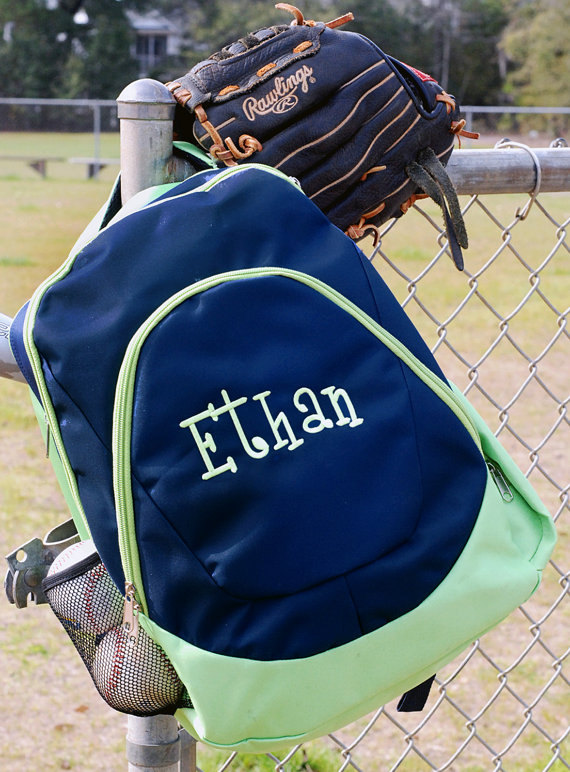 to prepare for Back To School! These personalized school backpacks ...