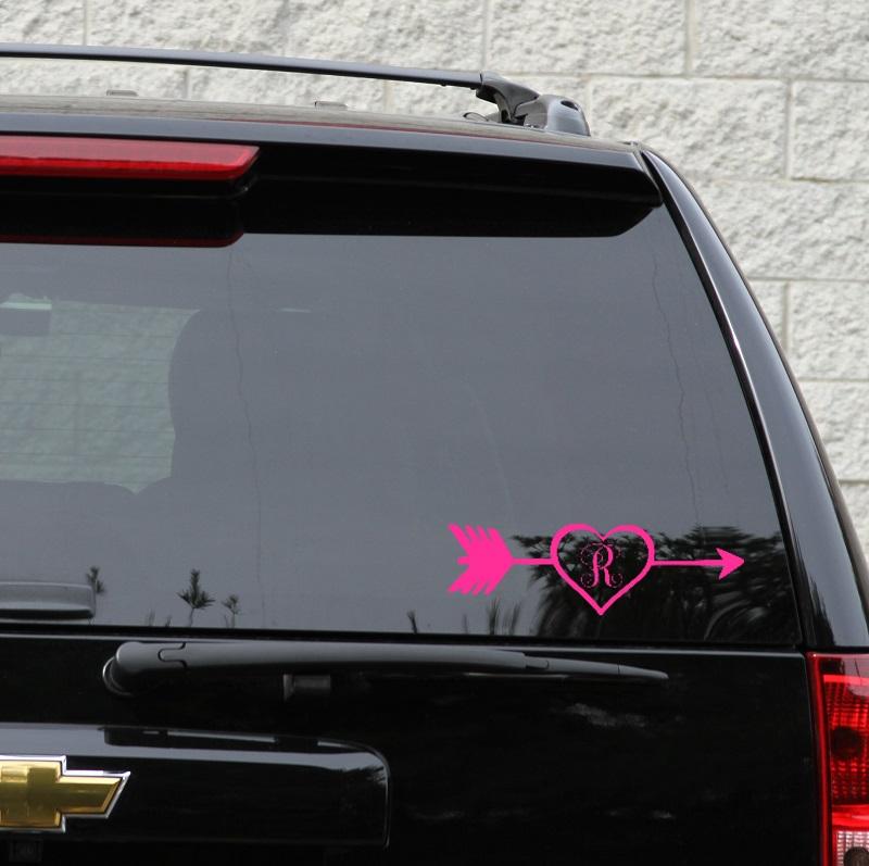 arrow frame monogram car - photo #39