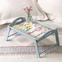 Shabby Chic Breakfast Tray