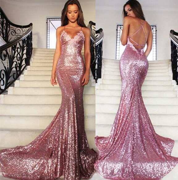 sequin dress long