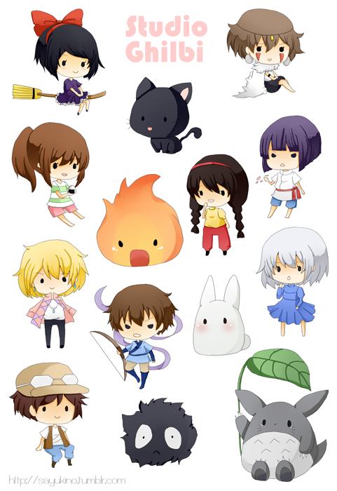 Stickers Studio Ghibli On Storenvy
